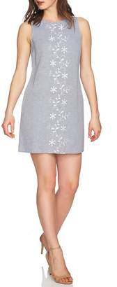 Cynthia Steffe CeCe by Arlington Sleeveless Embroidered Shift Dress