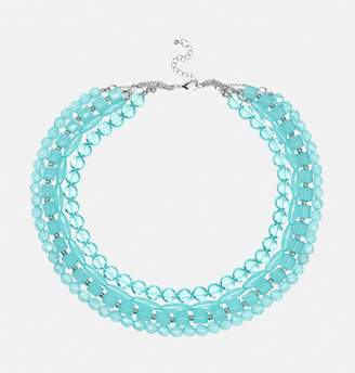 Avenue Turquoise Layered Bead Necklace