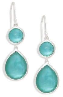 Ippolita Sterling Silver & Clear Quartz Drop Earrings