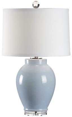 Capri Table Lamp - Cloud Blue Glaze - Wildwood