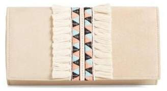 Shiraleah Emroirederd & Fringed Clutch