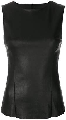 Drome fitted leather top
