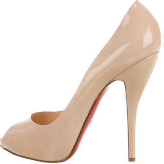 Christian Louboutin  Christian Louboutin Titi 120 Peep-Toe Pumps w/ Tags