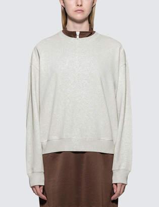 Stussy Ezra Cropped Baggy Sweatshirt
