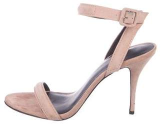 Alexander Wang Suede Ankle Strap Sandals
