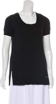 MICHAEL Michael Kors Knit Short Sleeve Top