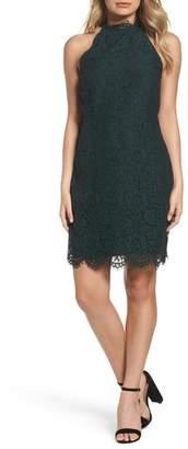 BB Dakota Cara High Neck Lace Dress