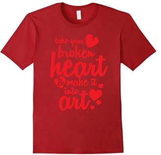 Love Take Your Broken Heart & Turn It Into Art Shirt