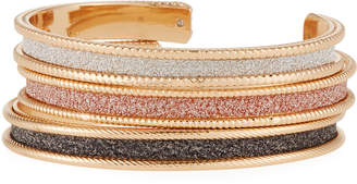 Romeo & Juliet Couture Glitter Bracelets, Set of 3