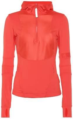 adidas by Stella McCartney Stretch jersey hoodie