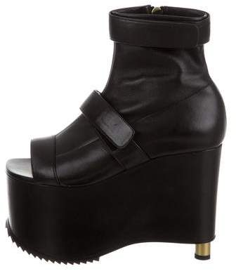 Vera Wang Wedge Ankle Boots