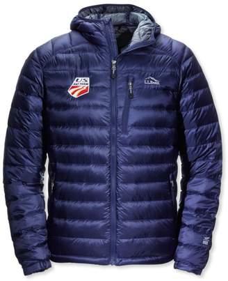 L.L. Bean L.L.Bean Ultralight 850 Down Hooded Jacket U.S Ski Team