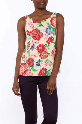 Everly Floral Tank Top $48 thestylecure.com