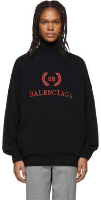 Balenciaga (バレンシアガ) - Balenciaga ブラック BB タートルネック