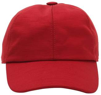 Ermenegildo Zegna Techmerino Patch Wool Baseball Hat