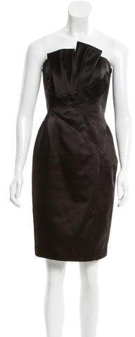 MICHAEL Michael KorsMichael Kors Strapless Knee-Length Dress