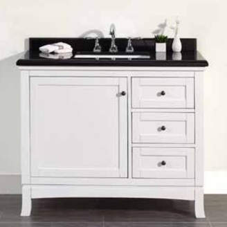 Ove Decors Sophia 42 Single Granite Top and Rectangular Basin Vanity Set