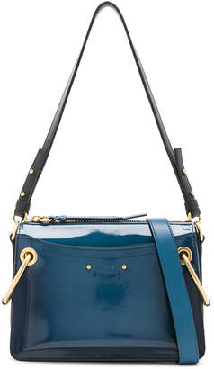 Chloé Small Roy Glossy Lambskin Shoulder Bag