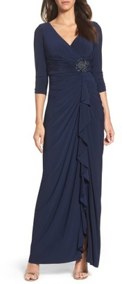 Women's Adrianna Papell Jersey Gown $179 thestylecure.com