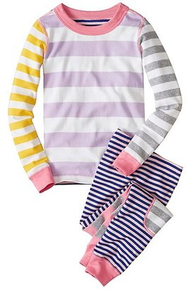 Kids Long John Pajamas In Organic Cotton $46 thestylecure.com
