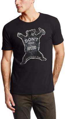 Lucky Brand Men's Don't Feed The Hipsters Graphic Tee