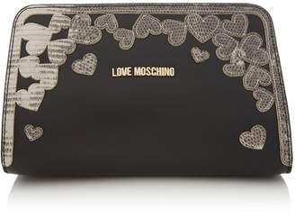 Love Moschino Full of love small crossbody bag