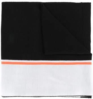 Iceberg intarsia logo scarf