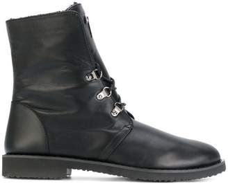 Giuseppe Zanotti Design Fortune shearling lined boots
