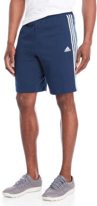 adidas Essentials 3 Stripe Fleece Shorts