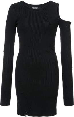 Amiri distressed sweater dress