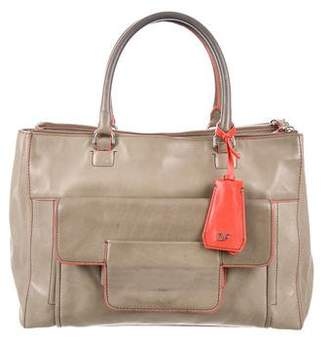 Diane von Furstenberg Eva Leather Tote