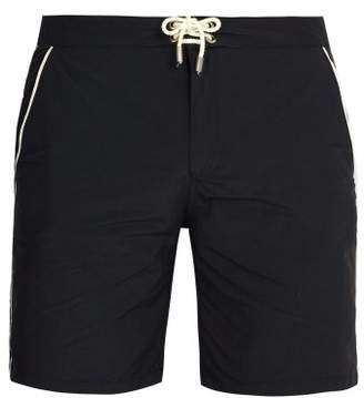 Solid & Striped The Boardshort Swim Shorts - Mens - Black Multi
