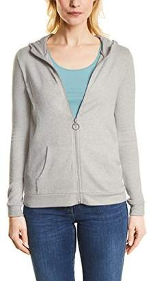 Cecil Women's 252661 Esther Cardigan, (Mineral Grey Melange 10327), X-Large