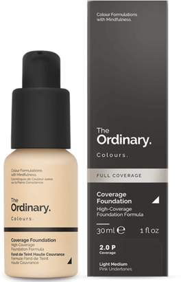 The Ordinary NEW Coverage Foundation (2.0 P) 30ml Womens Makeup
