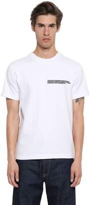 Calvin Klein Embroidered Heavy Cotton Jersey T-Shirt