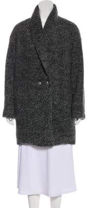 Jenni Kayne Wool & Mohair-Blend Knit Coat