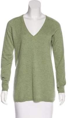 Brunello Cucinelli Cashmere Long V-Neck Sweater