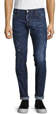 Distressed & Whiskered Jeans $495 thestylecure.com