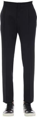 Ermenegildo Zegna Diagonal Active Wool Trousers