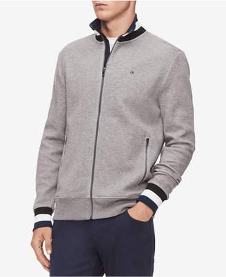 Calvin Klein Men's Full-Zip Sweater