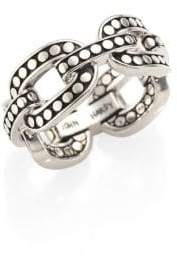 John Hardy Dot Sterling Silver Band Ring