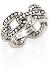 John Hardy Dot Sterling Silver Band Ring