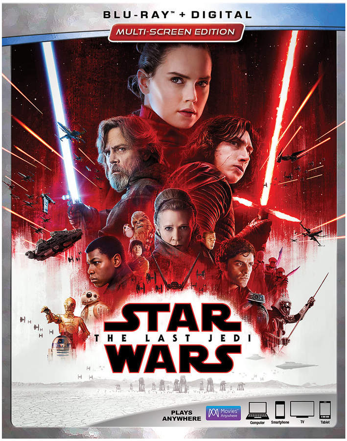 Star Wars: The Last Jedi Blu-ray Multi-Screen Edition with FREE Lithograph Set Offer - Pre-Order