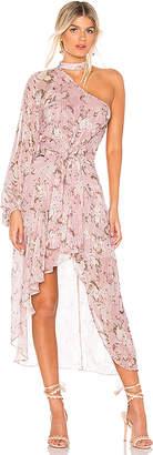 HEMANT AND NANDITA x REVOLVE One Shoulder Dress