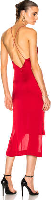 Dion Lee Satin Fine Line Cami Dress