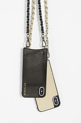 Bandolier Lucy Pebble Leather Crossbody Case