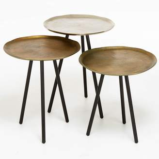 DAY Birger et Mikkelsen ABC Home Metallic Nesting Tables
