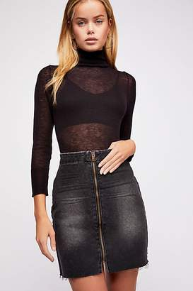 One Teaspoon Oneteaspoon OneTeaspoon Vixen High Waist Mini Skirt