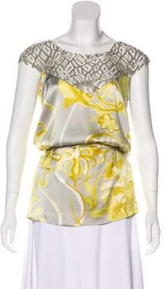 Emilio Pucci Sleeveless Silk Top