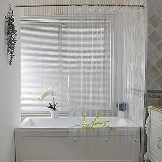 Clear UFRIDAY Shower Curtain Liner 72 X 75 Inch